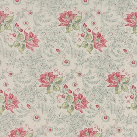 Moda Community White Fabric and Pink Fabric