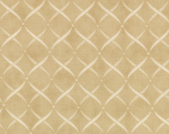 Moda Wintergreen Beige Fabric