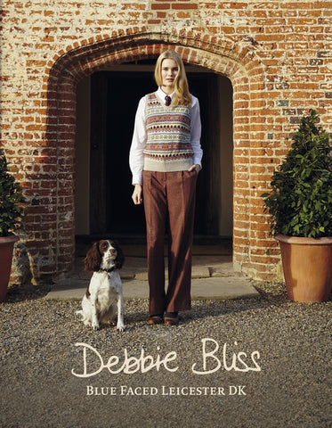 Debbie Bliss Blue Faced Leicester DK Pattern Book