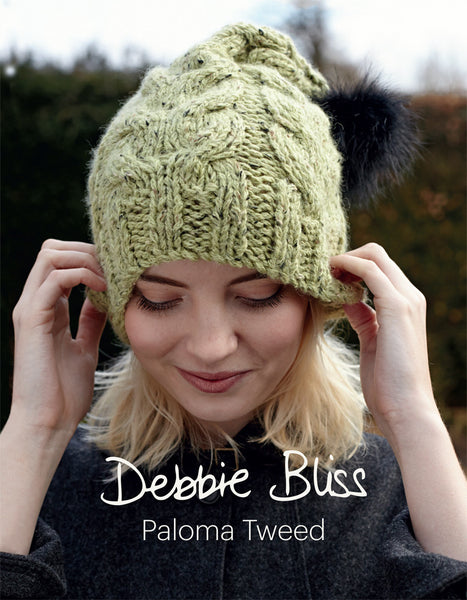 Debbie Bliss Paloma Tweed Knitting Pattern Book
