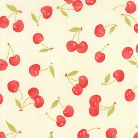Moda Fabric Farmhouse Milk red Fabric Cream fabric
