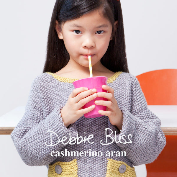 Debbie Bliss Cashmerino Aran Knitting Pattern Book for children