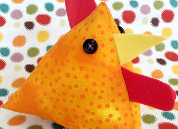 EASTER WORKSHOP: Sew your own Easter Chickens (Tuesday 4 April, 9:30am - 12pm)