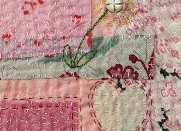 Keepsake Textile Art (Thursday 1 June, 10am - 12:30pm)