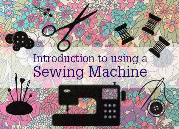 Introduction to using a Sewing Machine (Friday 7 July, 1:30 - 3:30pm)