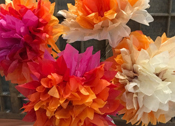 EASTER WORKSHOP: Paper Flowers, Wednesday 5 April, 2:30 - 4pm