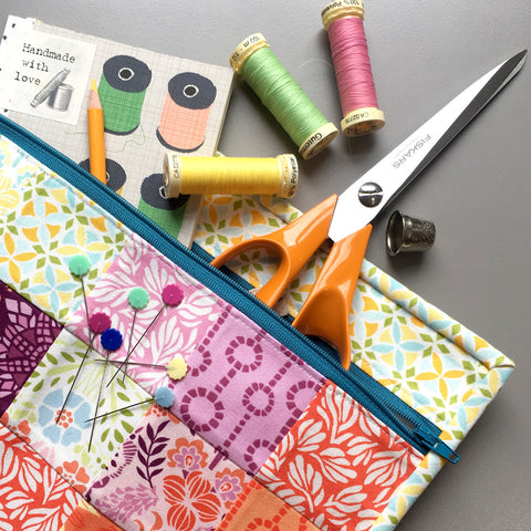 Patchwork Pouch - Monday 26 June (10am - 1:30pm)