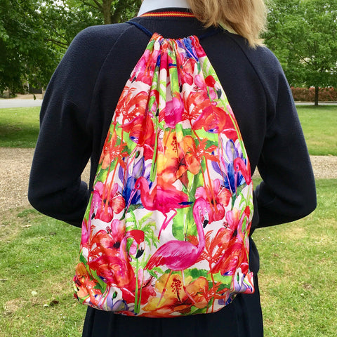 Sew a Drawstring Back Pack ( Thursday 31 August, 2 - 4:30pm)