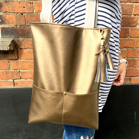 Sew a Faux Leather Tote Bag (Thursday 24 August, 9:30 - 12:30pm)