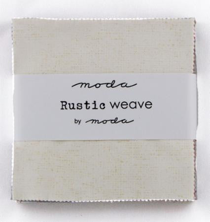 Moda Rustic Weave Charm Squares
