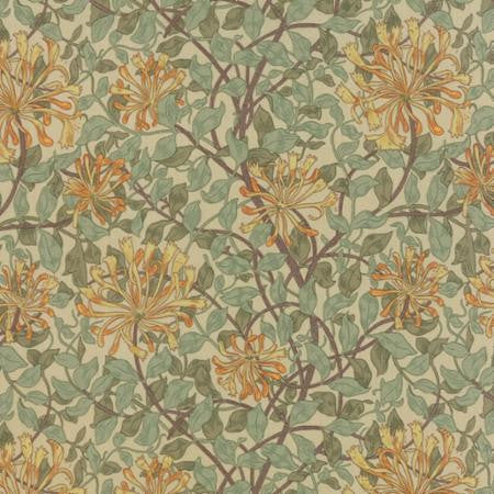 Moda Best of Morris Green Honeysuckle sage green Fabric