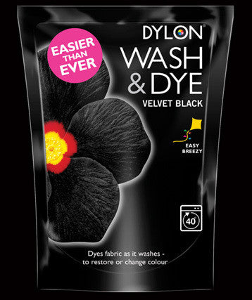 Dylon Wash & Dye 01 - VELVET BLACK