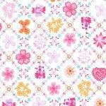Michael Miller Royal Sampler Pink Fabric