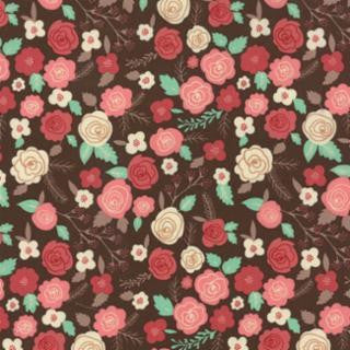 Moda Into the Woods Brown Fabric