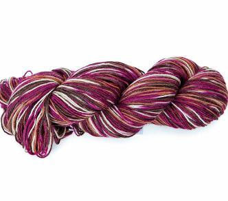 Knit Global Sock Yarn -Cranberries 391