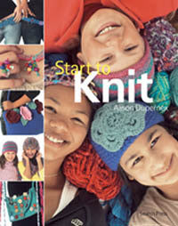 Start to knit book by Alison Dupernex