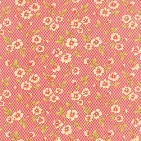 Moda Fabric Farmhouse Tomato Red Fabric