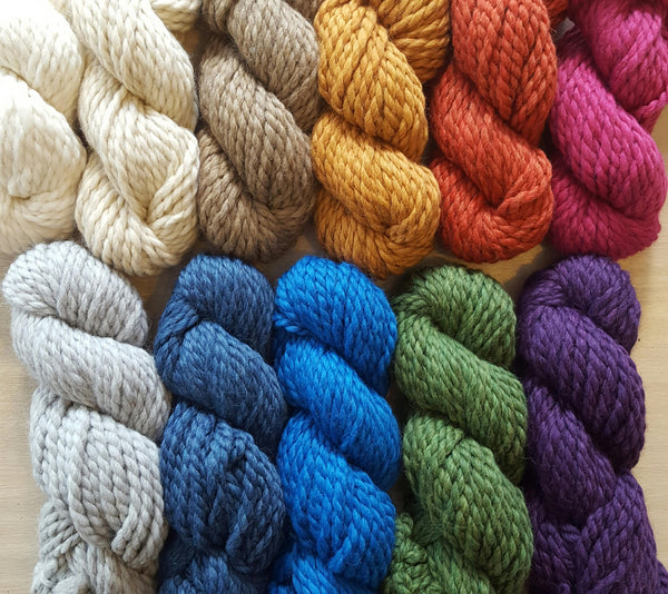 Mamancha Luxury Knitting Yarn by Amana. 100g hank Various colours