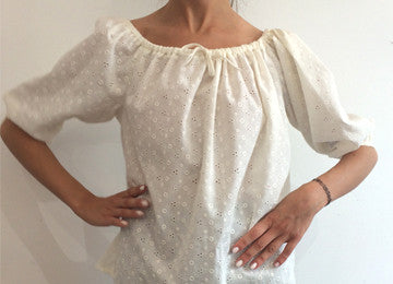 EASTER WORKSHOP - Sew your own Off the Shoulder Gypsy style top (Tuesday 11 April, 9:30 -  1pm)