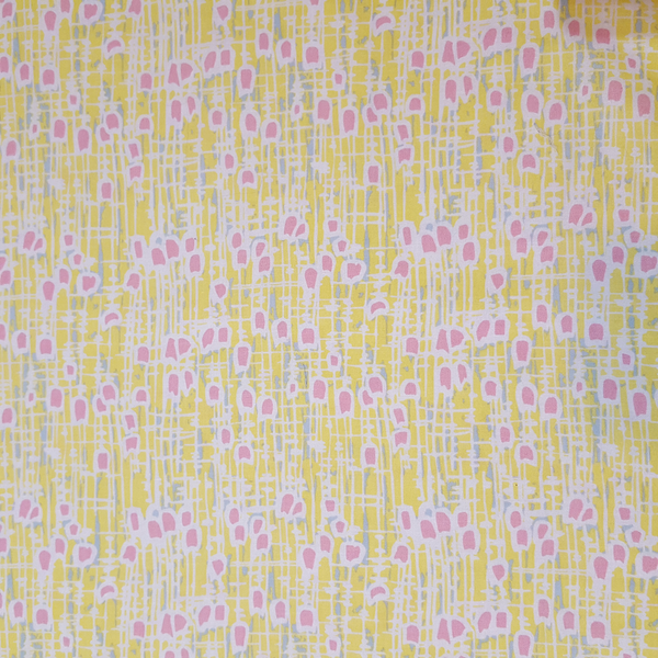 Tulip. Hemingway Design Yellow Fabric