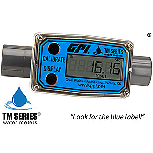 TM Series Water Meter (Local Display)