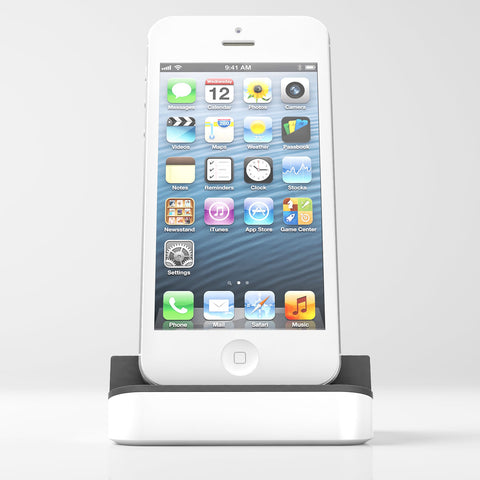 Apple-certified dock+