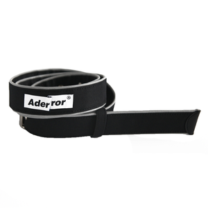 Piping Belt Black