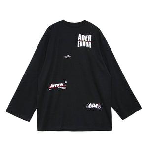 Multiple Logo T-Shirt Black