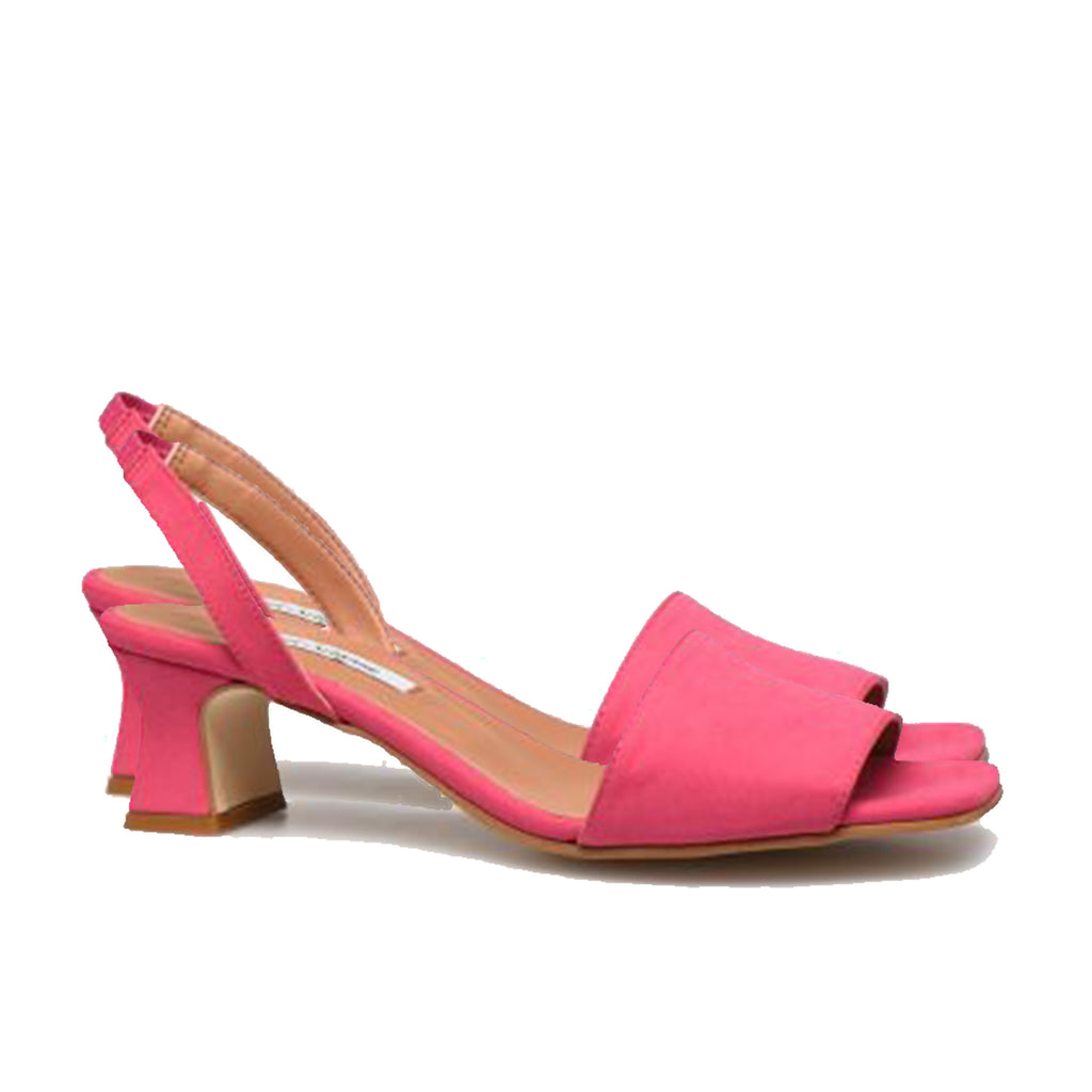 Joan Sandals Fushia