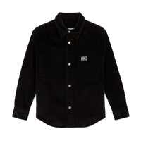 Corduroy Overshirt Black