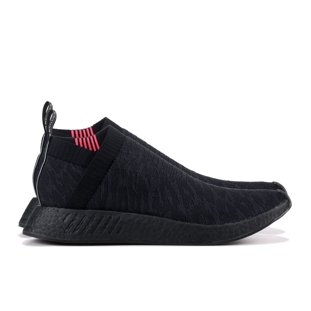 NMD CS2 Primeknit Core Black/Shock Pink