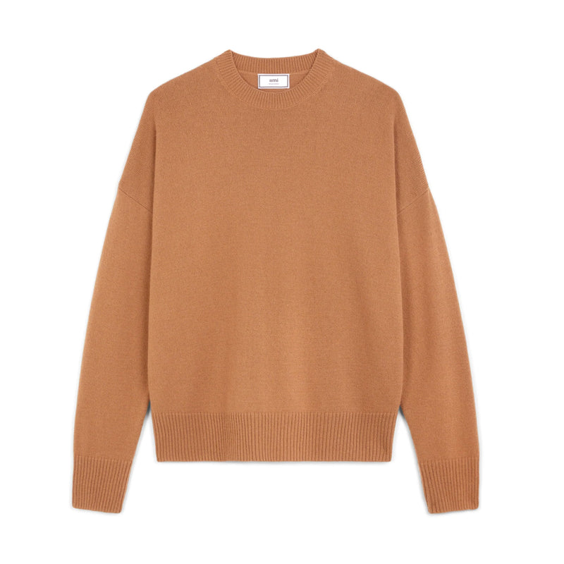 Oversized Pullover Cashmire Brown