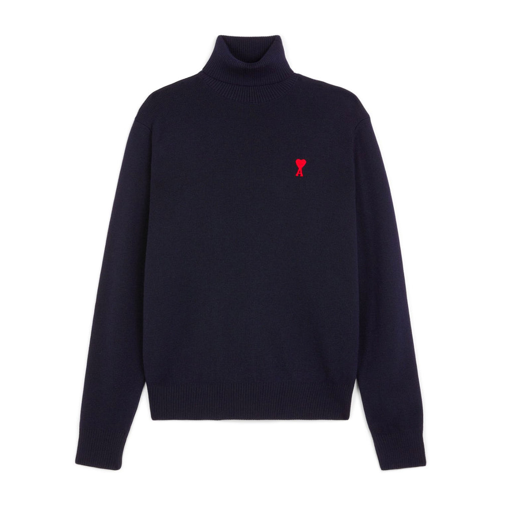 Turtleneck Ami de Coeur Navy