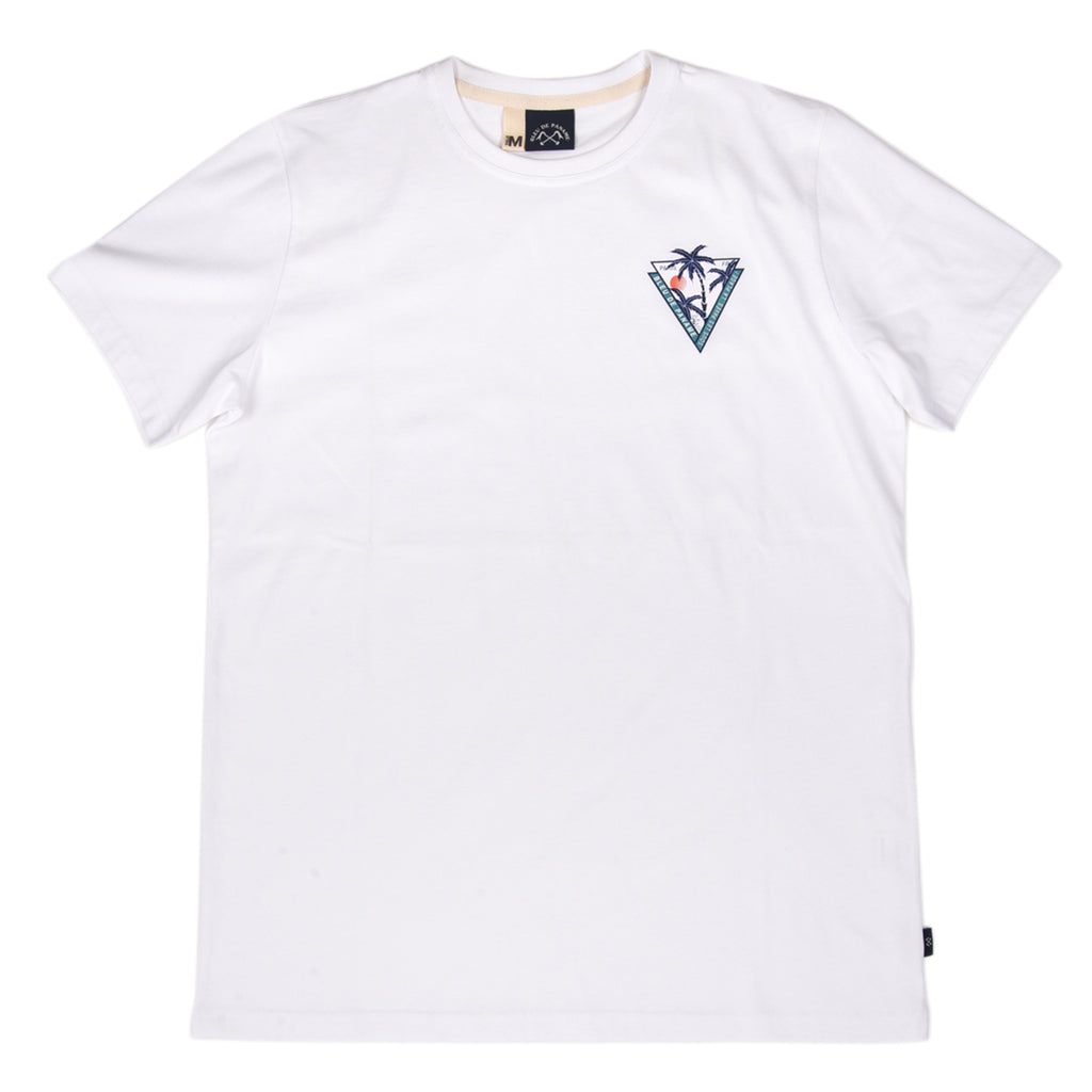T-Shirt Palmiers White