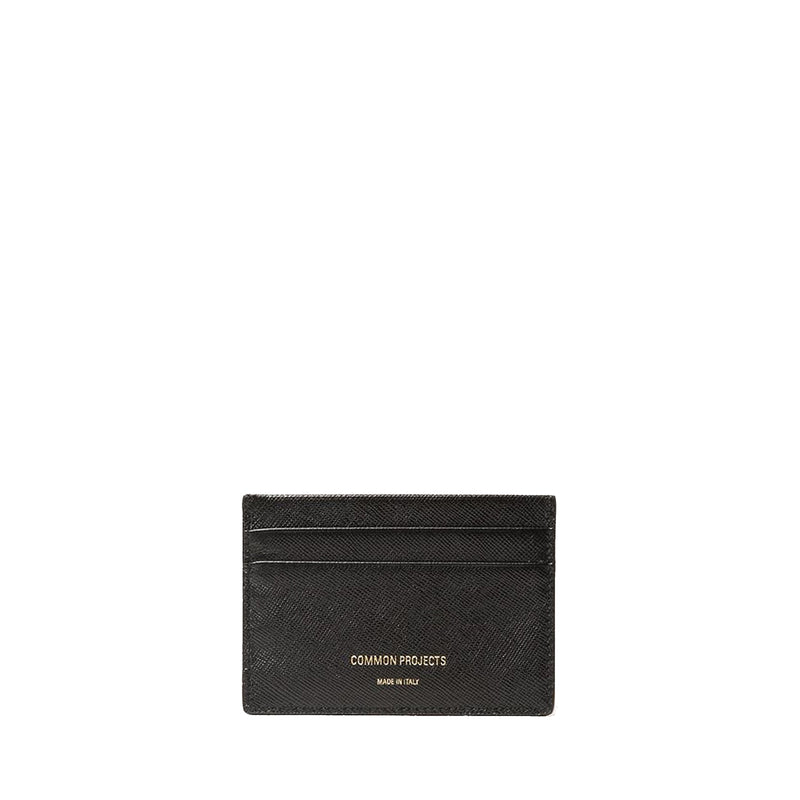 Multi Cardholder Saffiano Leather Black