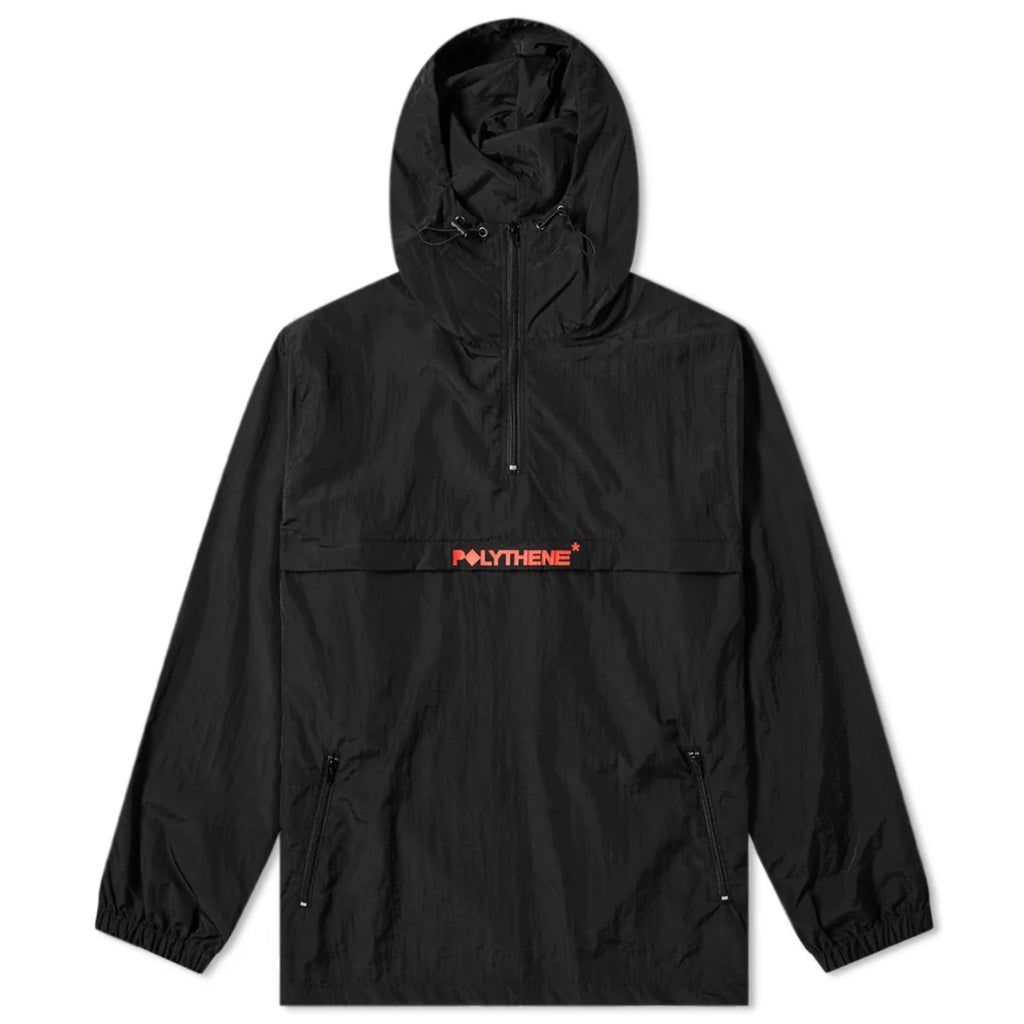 Half Zip Windbreaker Black