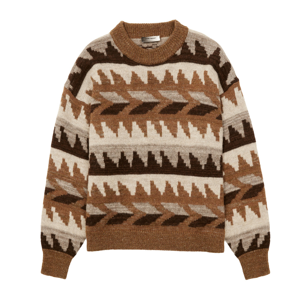 Gatsyh Pullover Brown