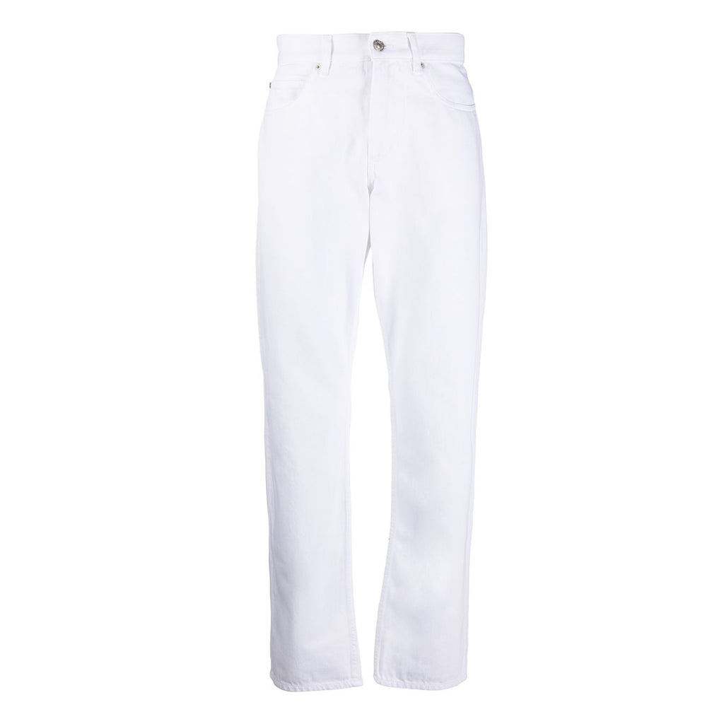 Jack Denim White