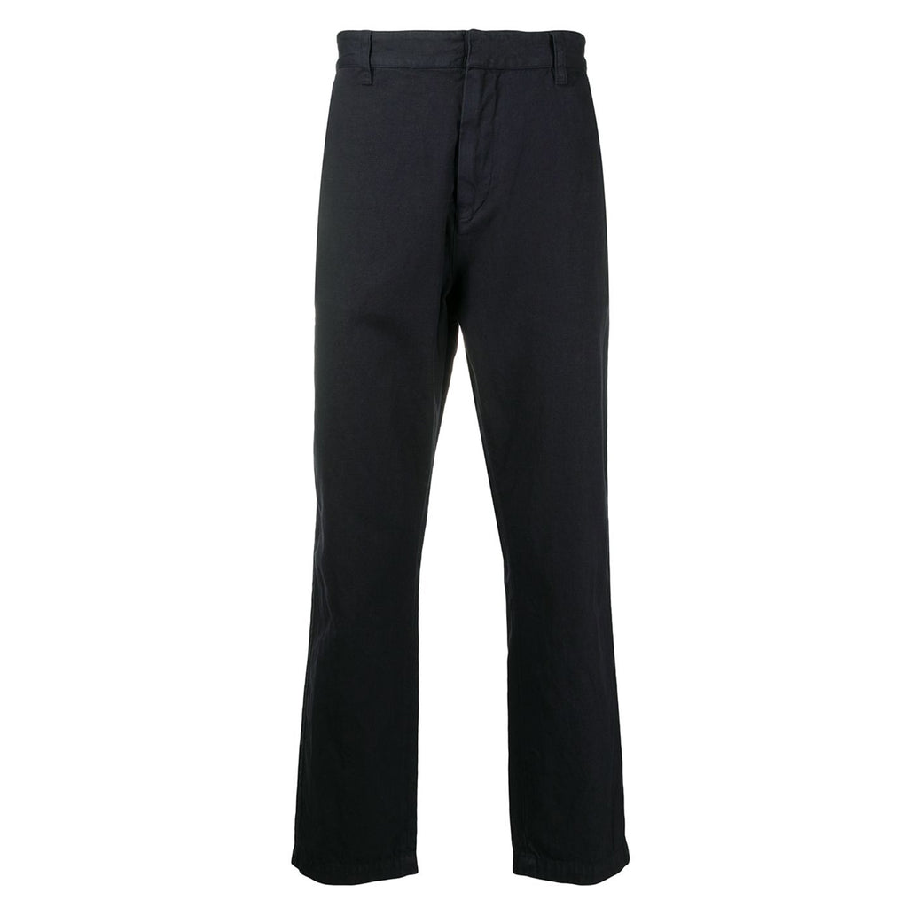 Tapery Faded Black Pants