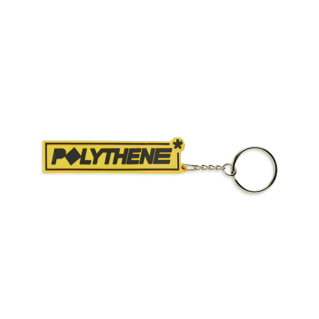 Rubber Keyring Yellow