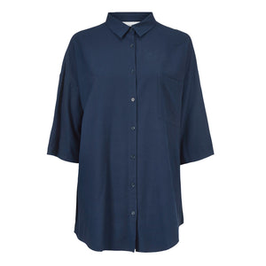 Bianca Raw Silk Shirt