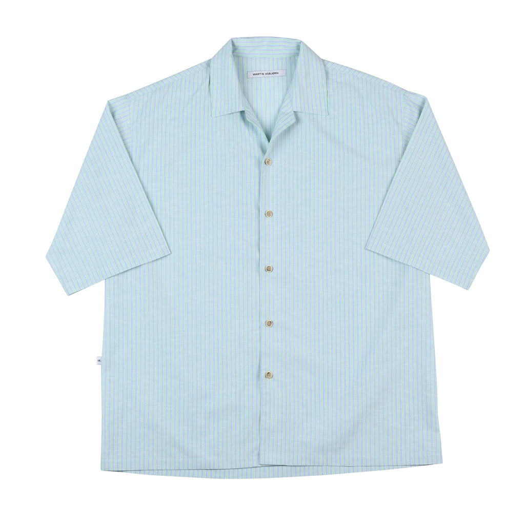 Dickie Shirt Stripe Havana Green