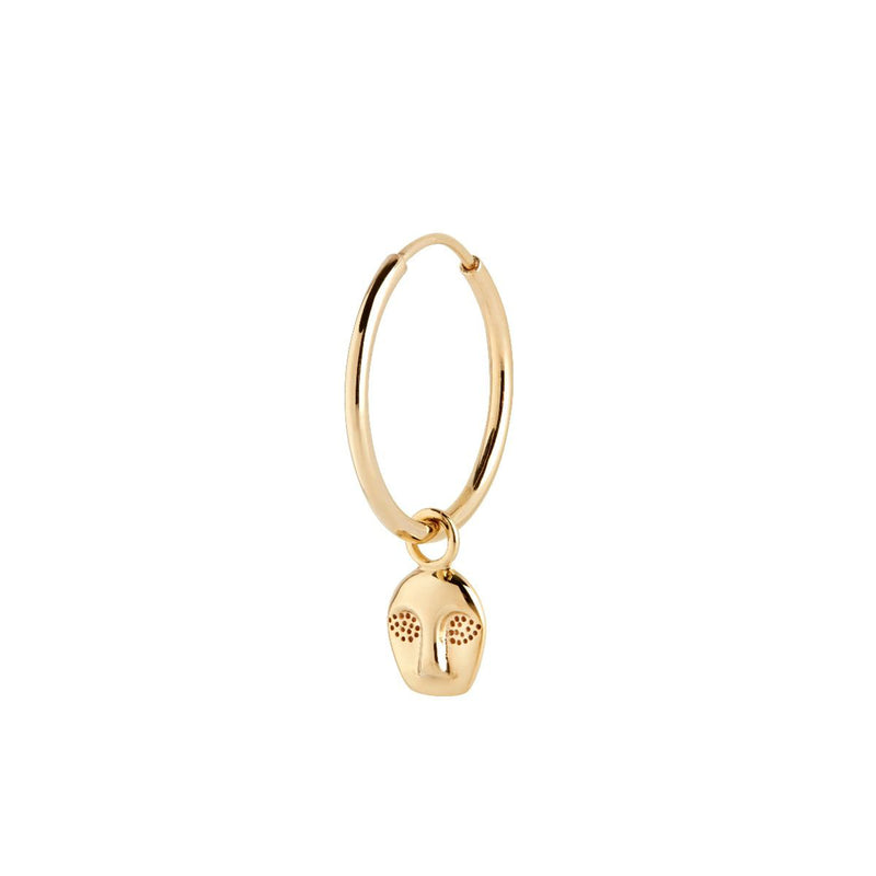Ray Hoop Earring Gold