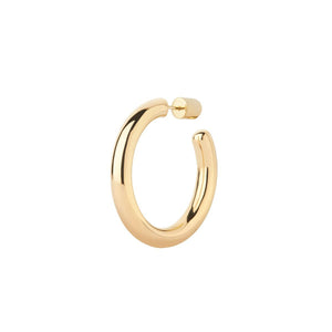 Ruby 35 Hoop Earring Gold