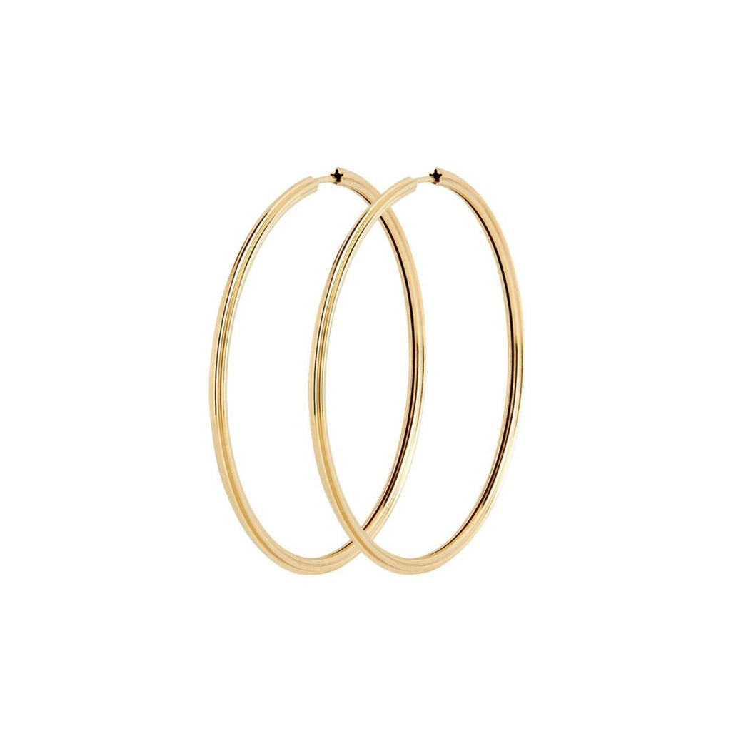 Sunset 50 Hoops Gold