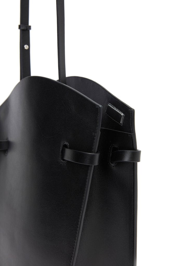 Midi Satchel Black