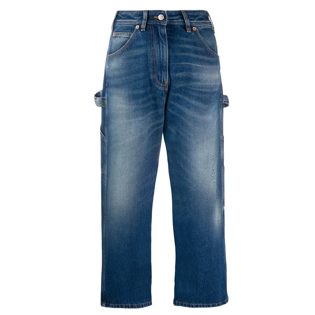 Cropped Worker Jeans
