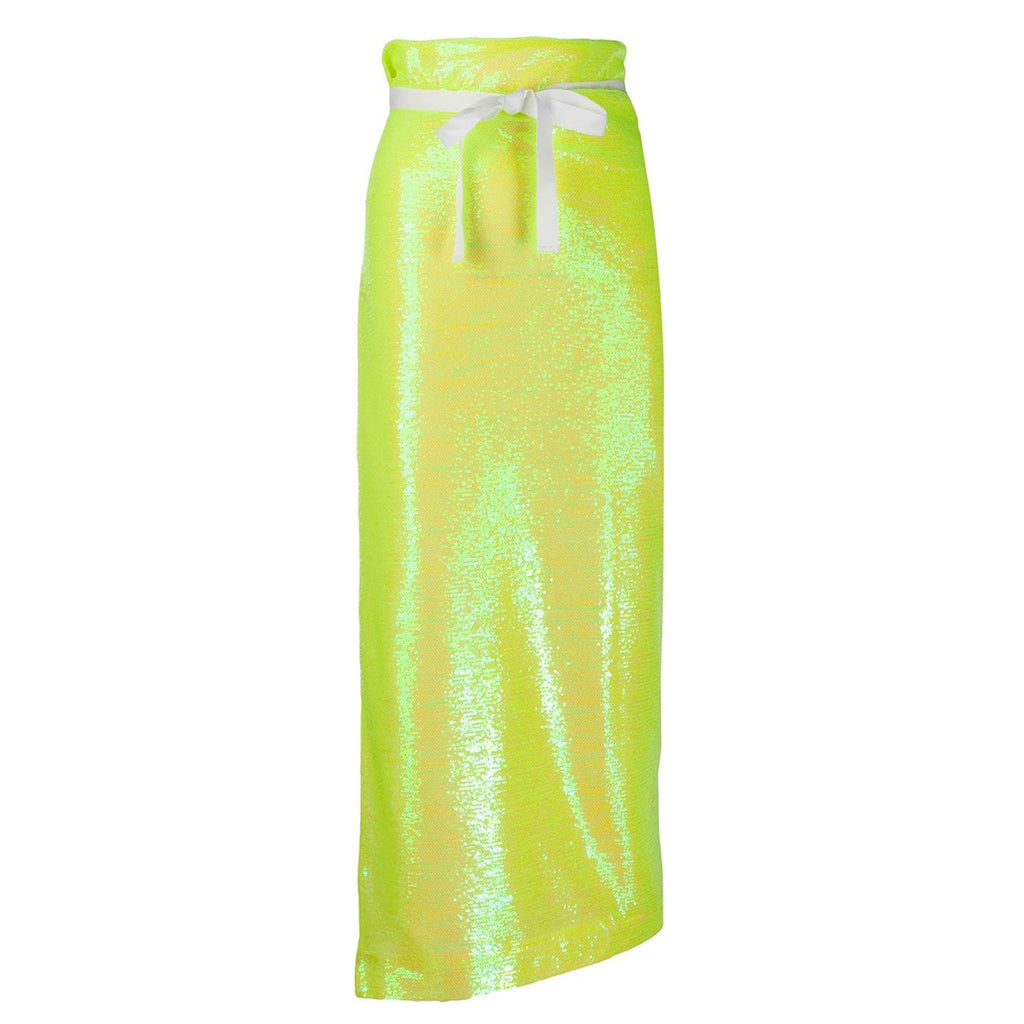 Sequin Neon Skirt