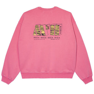 Hotel Spa Crewneck Washed Pink