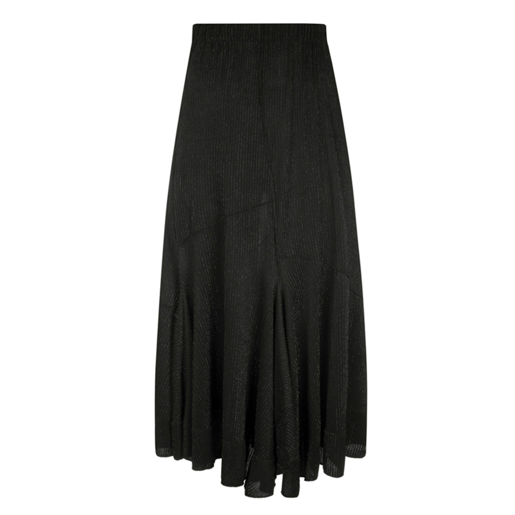 Rio Satin Lurex Skirt